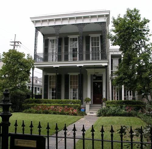 Garden District Home New Orleans La Loving Louisiana Pinterest