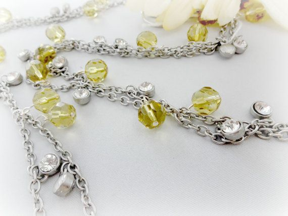 Silver and Gold Beaded Curtain Tiebacks Home Decor by YoursTrulli, $32 ...