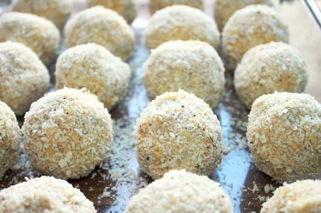 Creole Chicken Artichoke Balls | Chef Beth | Pinterest