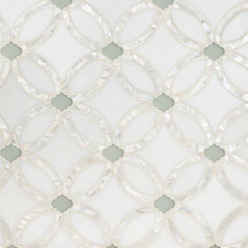 Artistic Tile | Allison | Glass | Pinterest