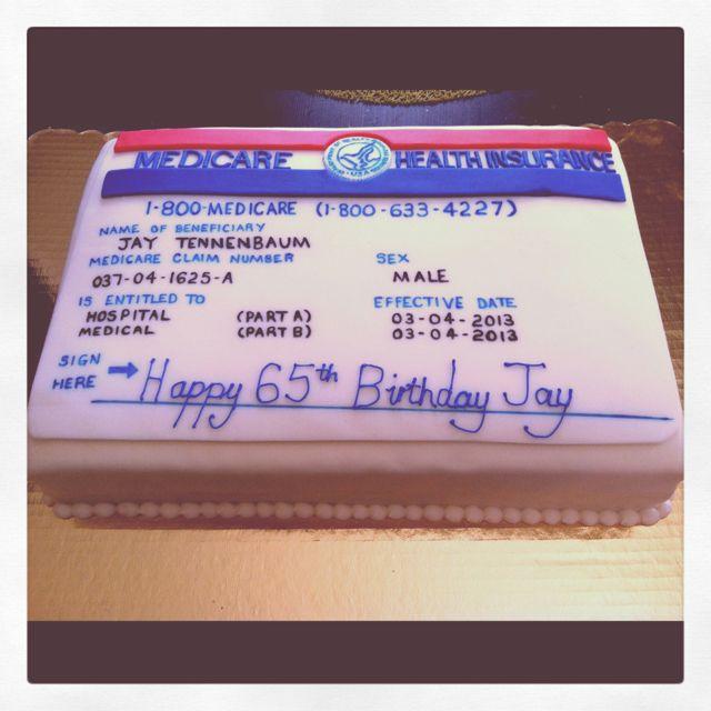 medicare birthday card