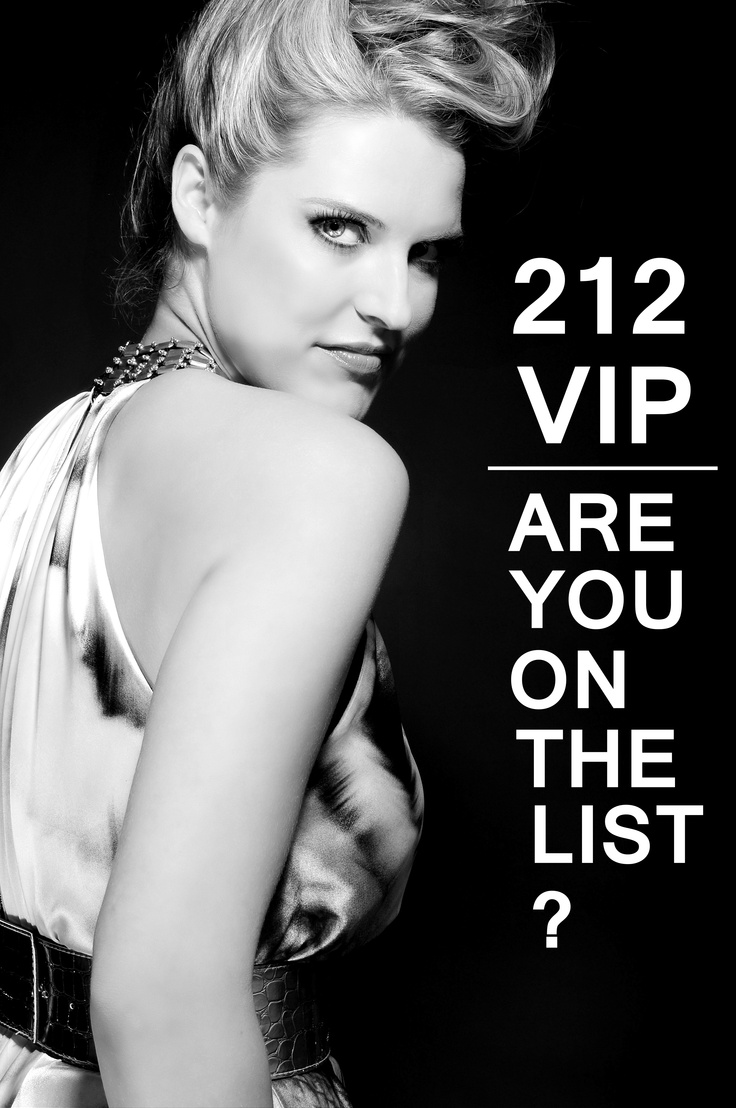 212 vip are you on the list michel sedaga photography