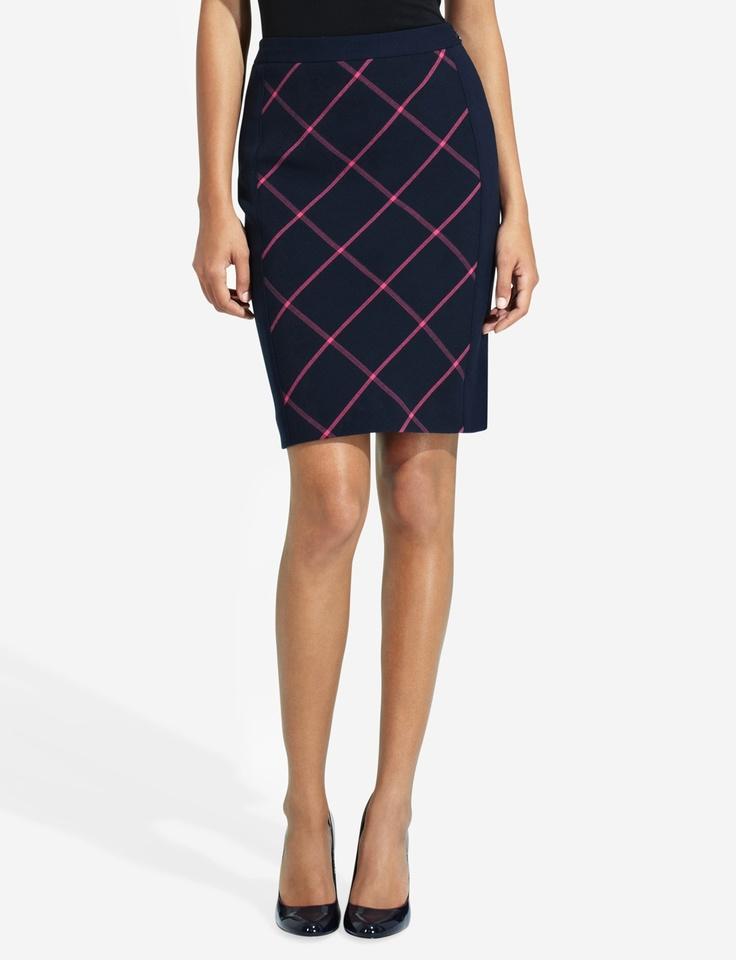 Luxury Home  Women  Dresses Amp Skirts  Women39s Richville Wool Plaid Skirt