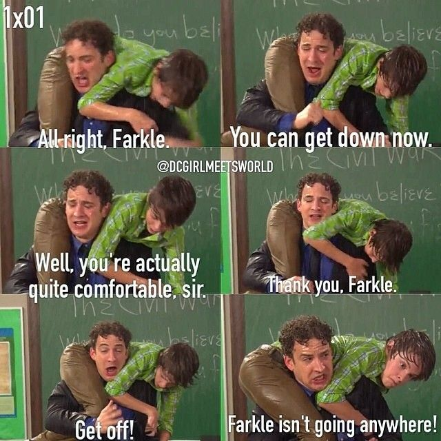 Who Plays Farkle In Girl Meets World