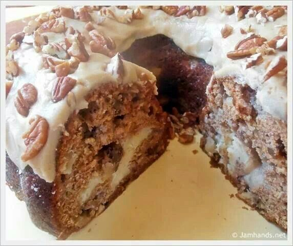 Apple cream cheese bundt cake | Food...Cakes | Pinterest