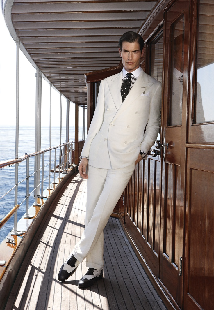 Ralph Lauren Purple Label's finest summer suiting.
