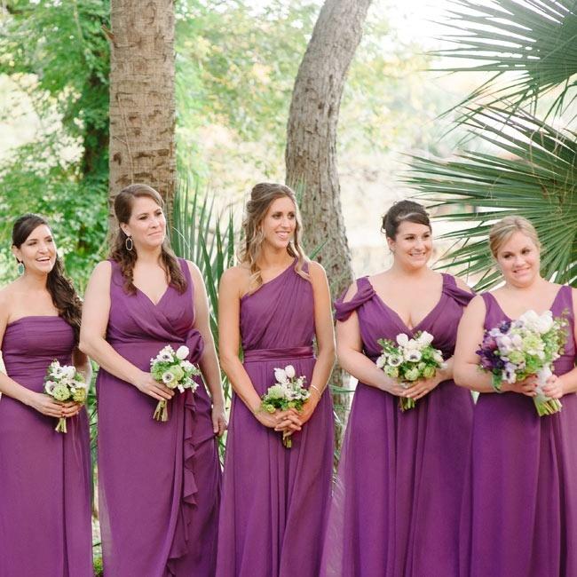 Purple Bridesmaid Dresses The Knot 100