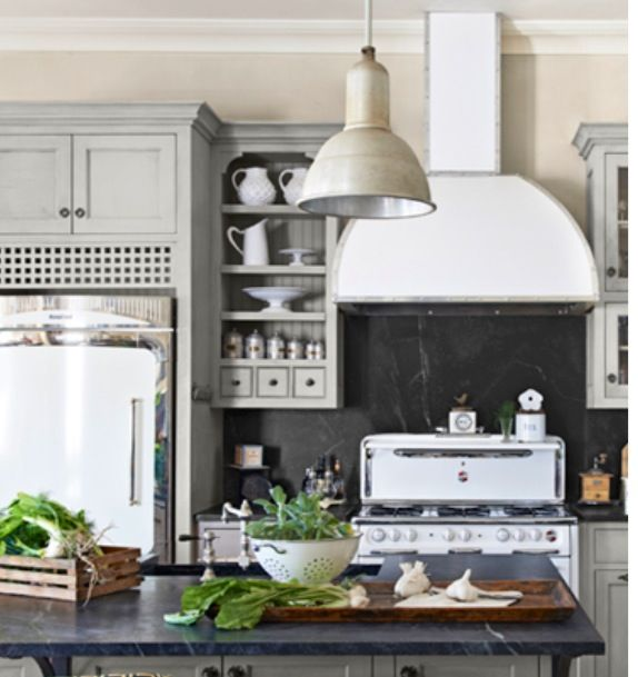 Yes: Soapstone And Vintage Appliances...