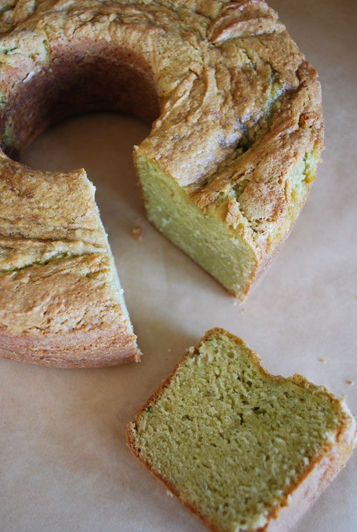 Lilly & Louise: Because Baking is Creative: Avocado Pound Cake