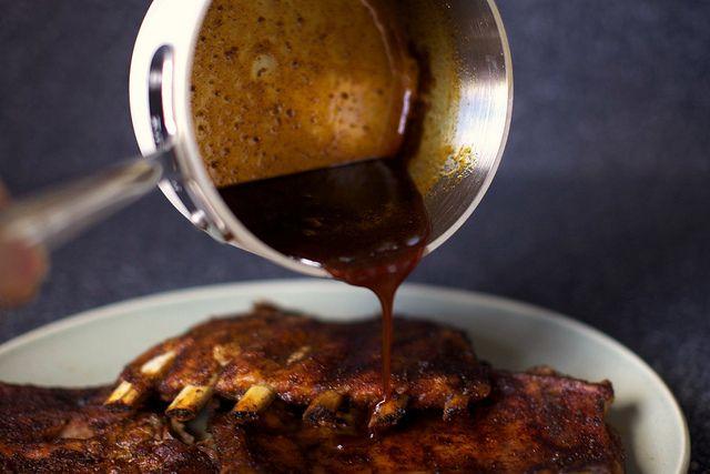 Sweet And Smoky Oven Spareribs Recipe — Dishmaps