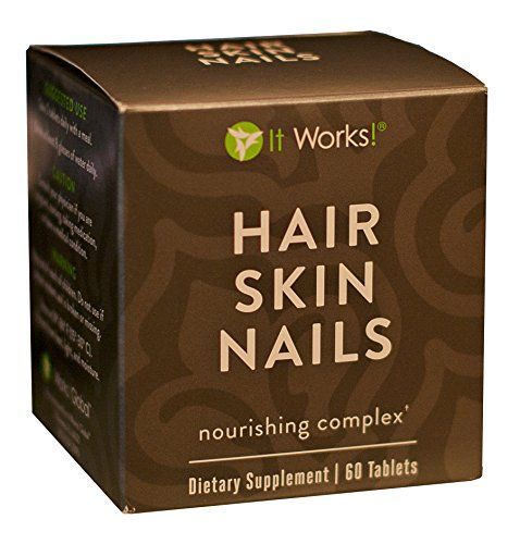 It Works! Hair Skin Nails Nourishing Complex Dietary Supplement - 60 ...