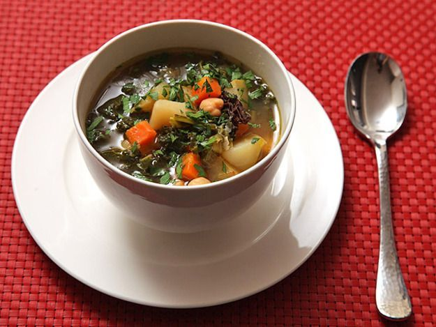 Hearty Winter Vegetable Soup ~ via http://www.seriouseats.com/recipes ...