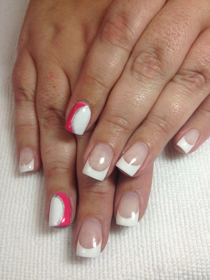 Gel overlay w/ shellac | Nails by Dusty@Myamore | Pinterest