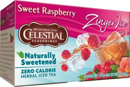 Sweet Raspberry Zinger Ice Herbal Tea | Dranks & Pops | Pinterest