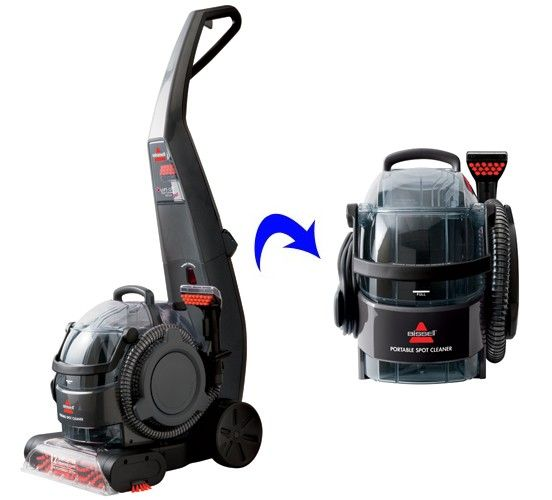 The Bissell 24A4 DeepClean Lift Off Deluxe Pet Is A