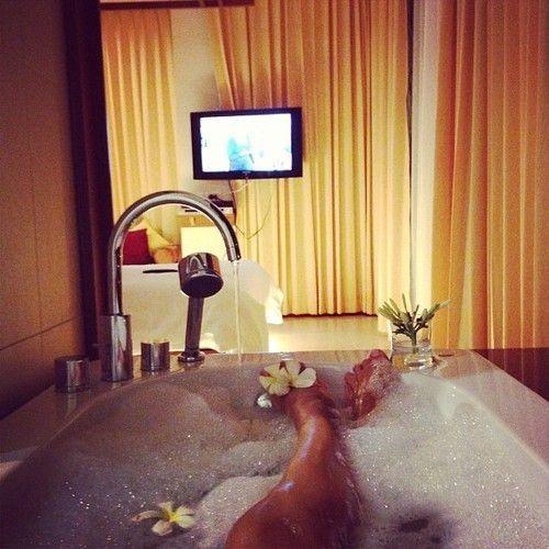 Relaxing Bubble Baths