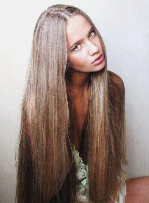 Long, long, long hair...
