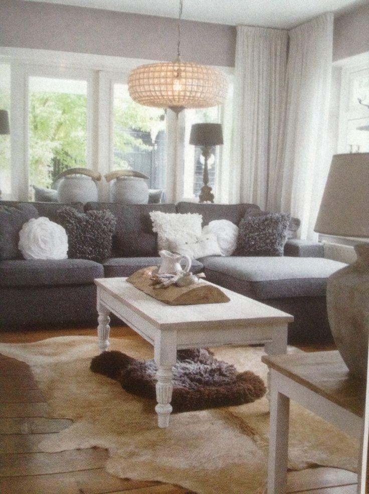 Lamp woonkamer landelijk sfeervol landelijk wonen for Landelijk interieur woonkamer