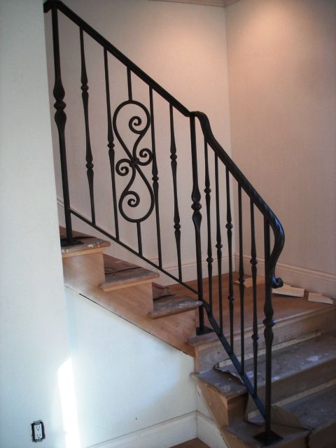 Best Interior Wrought Iron Railing Home Decor Pinterest 400 x 300