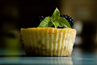 Lemon Ice Box Pie Cupcakes with Lavender Benne Seed Shortbread Crust ...