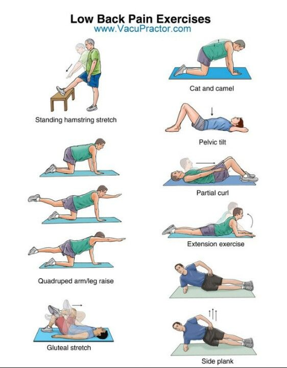 lower back pain exercises   Fitness   Pinterest Lower Back Stretches For Pain