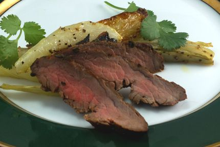 Flank Steak with Asian Marinade | Grilling State | Pinterest