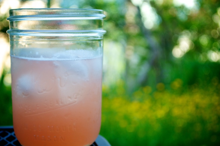ginger and rhubarb cocktail | For the Bar | Pinterest