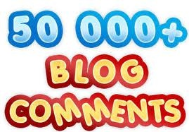 I will build large 50K blog comments with full report and pinging