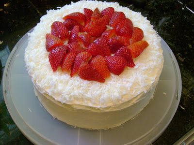 Southern Style Strawberry Cake | Cakes | Pinterest