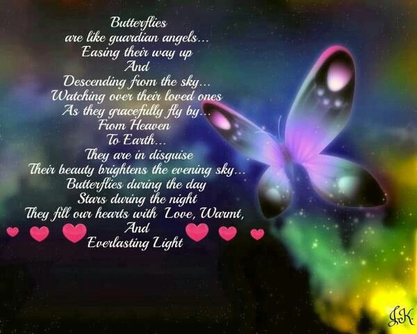 Butterflies from Heaven | Mommy's Angel | Pinterest Happy Birthday Quotes For Sister For Facebook