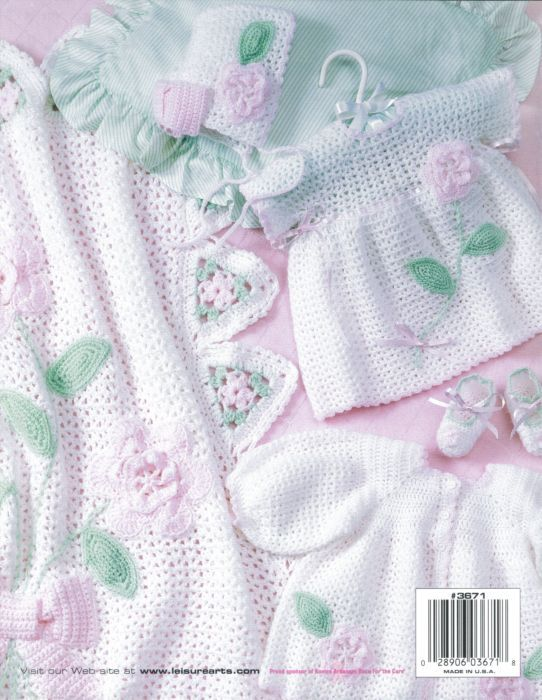 Free Crochet Baby Layette Patterns baby blooms layette ...