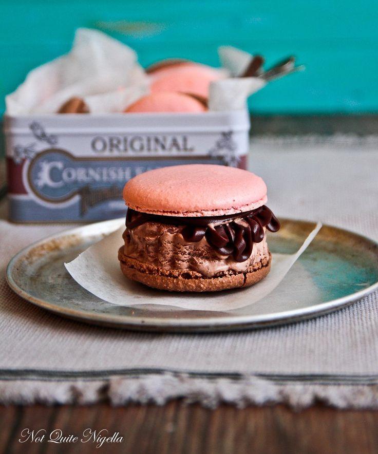 Neapolitan Macaron Ice Cream Sandwich | Gluten free discoveries | Pin ...