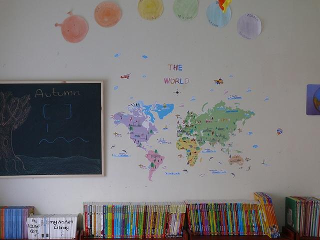 Homeschool dining room childhood pinterest for Homeschool dining room ideas