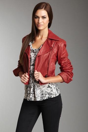 French Connection Jackson Leather Jacket