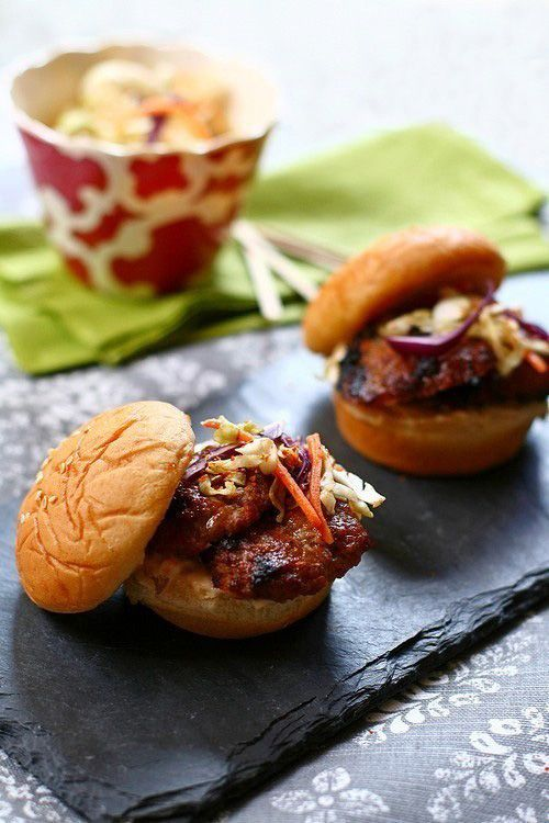 Grilled Five-Spice Pork Sliders: Summer is just right around the ...
