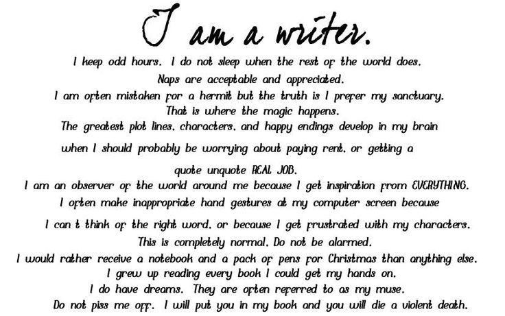 Me As A Writer Essay