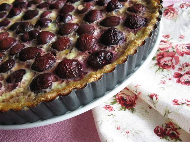Cherry Custard Tart | Sweet Tooth | Pinterest