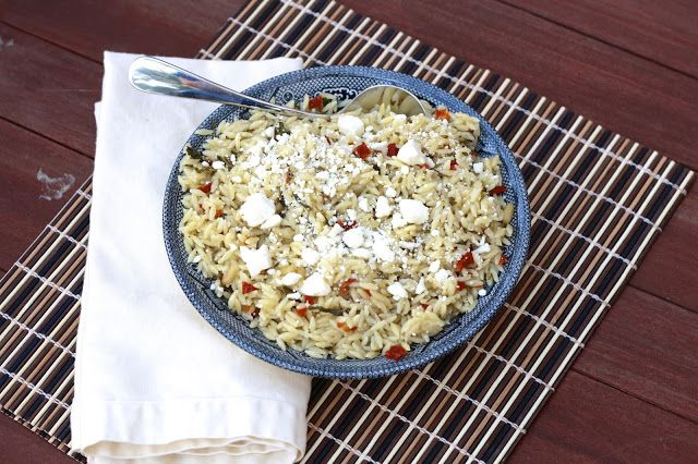 Orzo with Sun-dried Tomato and Basil | Recipes | Pinterest
