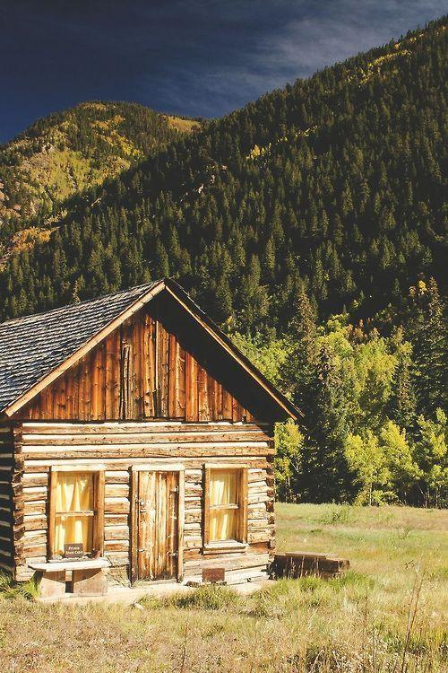Mountain cabin ashcroft colorado at the cabin for Mountain cabin homes