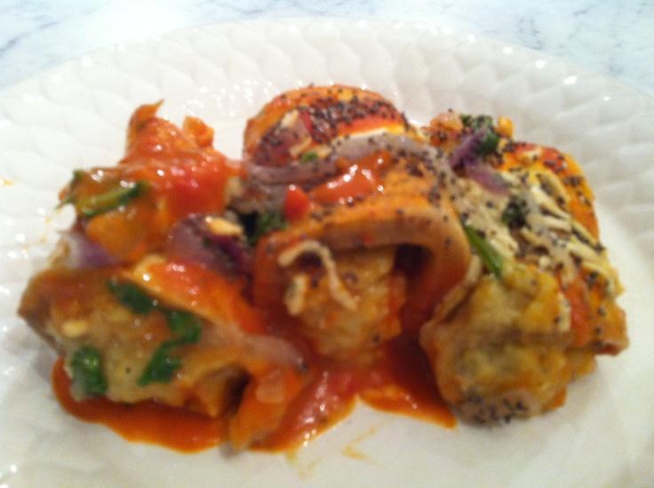 vegan eggplant cannelloni- yumm!! | Gf meals | Pinterest