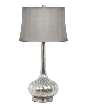 Privilege 32in Mercury Genie Bottle Table Lamp