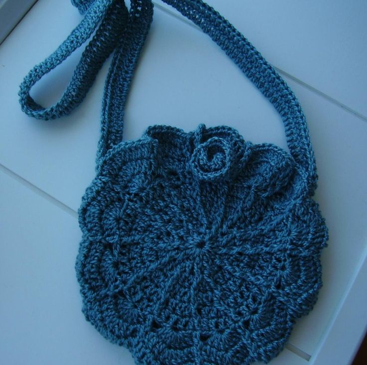Crochet Shoulder Bag : Cutest Shell Shoulder Bag CROCHET BAGS Pinterest