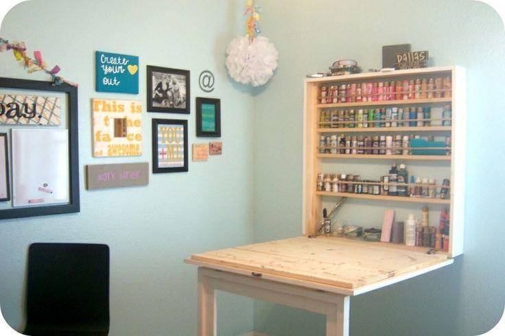 DIY Craft Table Thing Craft Room Ideas Pinterest