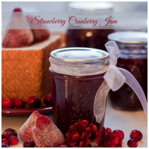 Strawberry Cranberry Jam :Homemaking on the Homestead: Homestead ...