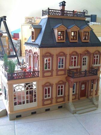 maison playmobil 1900 miniatures et jeux pinterest