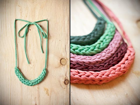 Design Crush » Woven Necklaces