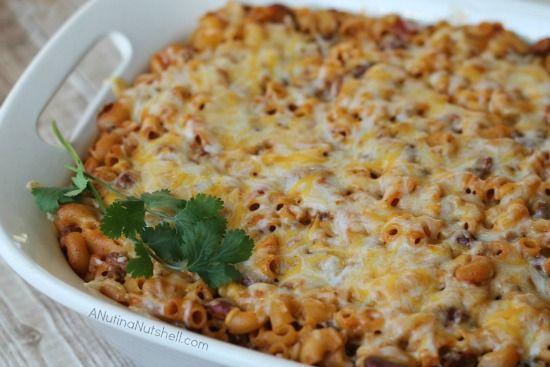 Cheesy-Chili-Mac-Casserole | Food - Main Dishes | Pinterest