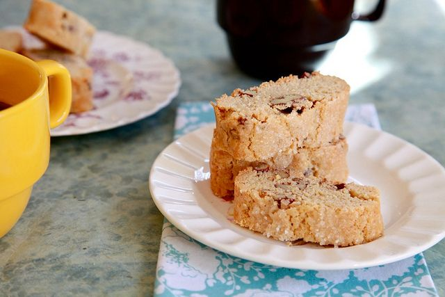 Peanut Butter Pecan Biscotti | You want to eat this board | Pinterest
