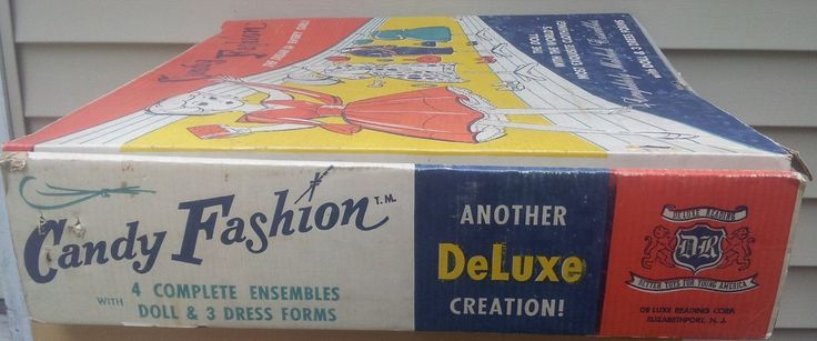 Vintage Deluxe Reading Candy Fashion Doll Set Looks Complete | eBay