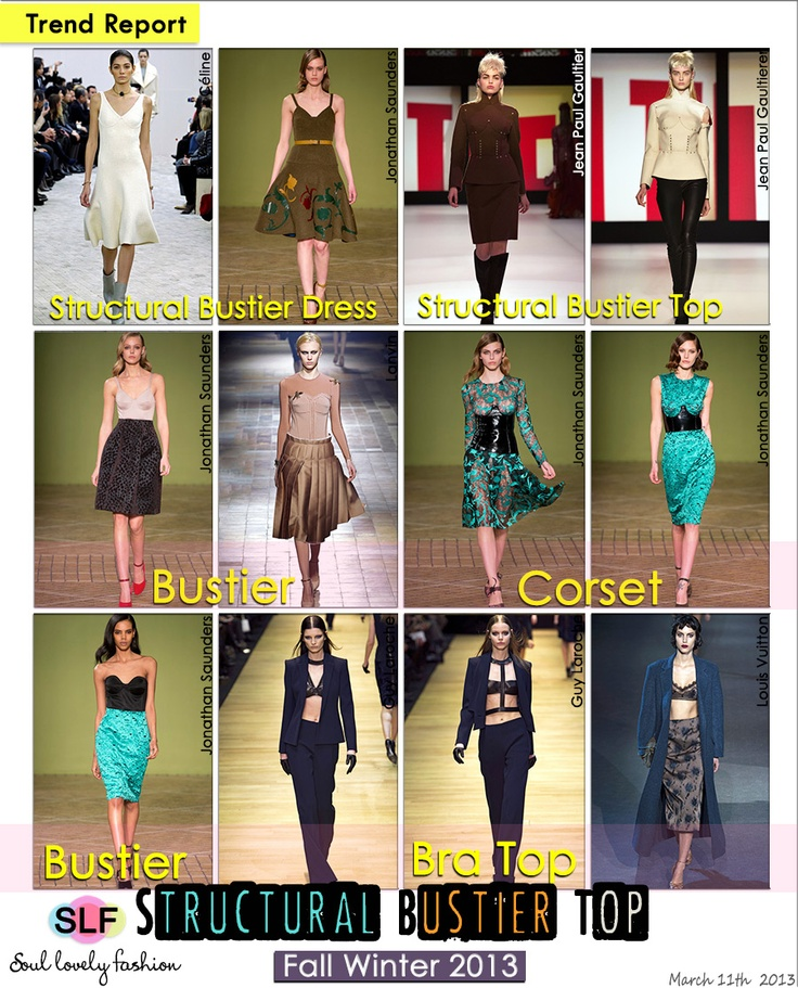 Fashion Trend for Fall Winter 2013 #Boudoir #Fashion Trend for Fall ...